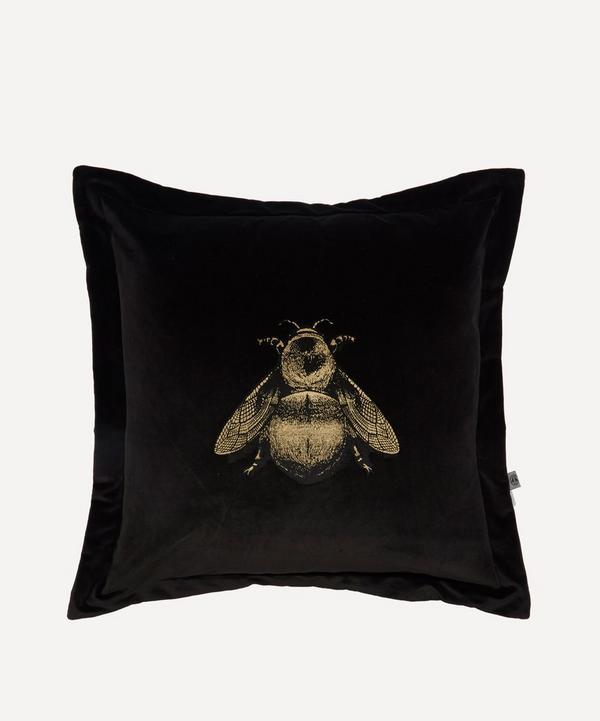 Timorous Beasties - Napoleon Bee Velvet Cushion
