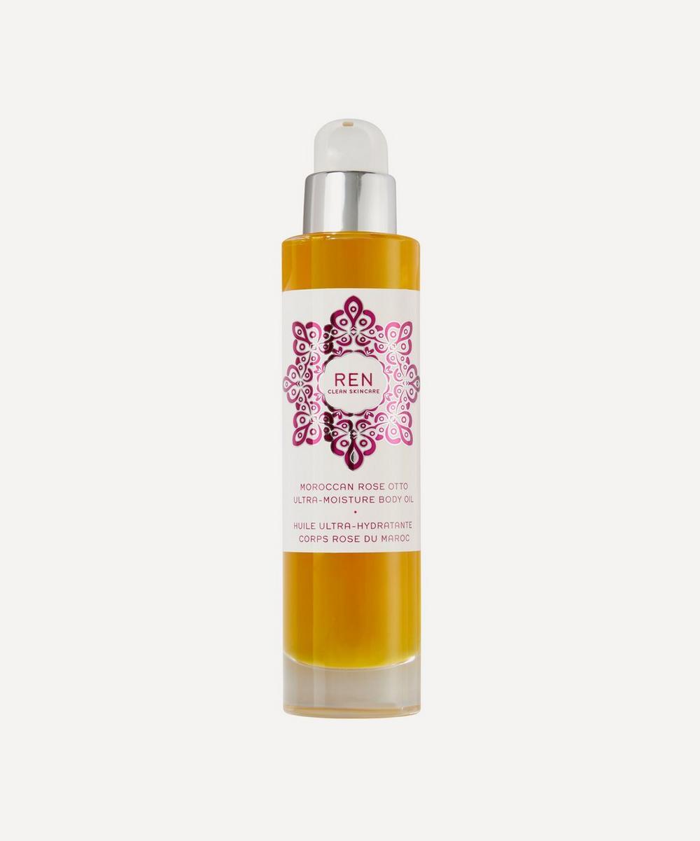 REN Clean Skincare - Moroccan Rose Otto Ultra-Moisture Body Oil 100ml