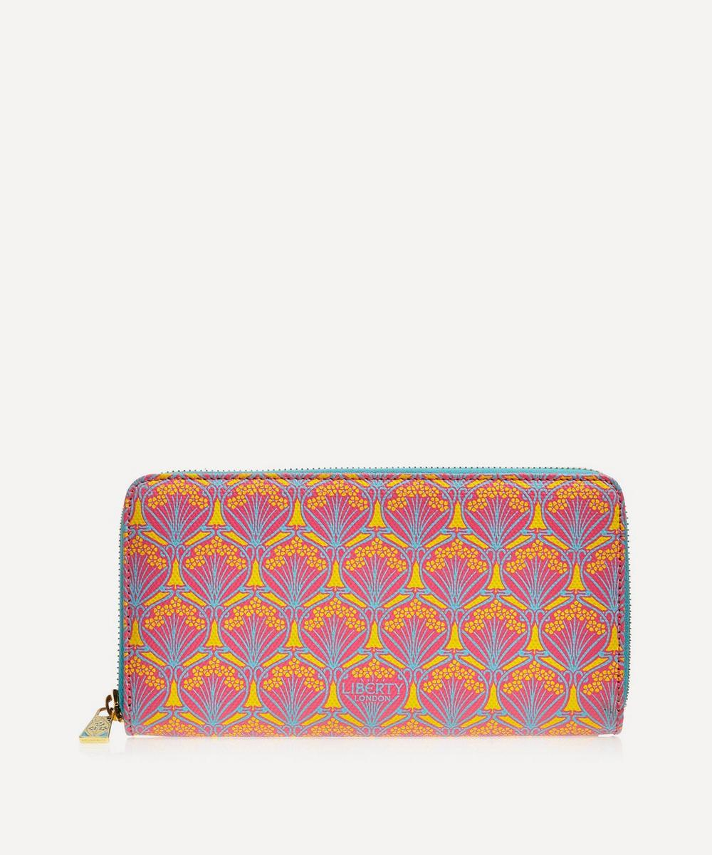 Iphis Canvas Large Zip-Around Wallet