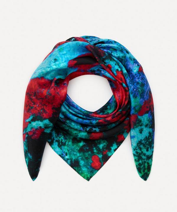 Weston - Copper Ore Print Silk Scarf
