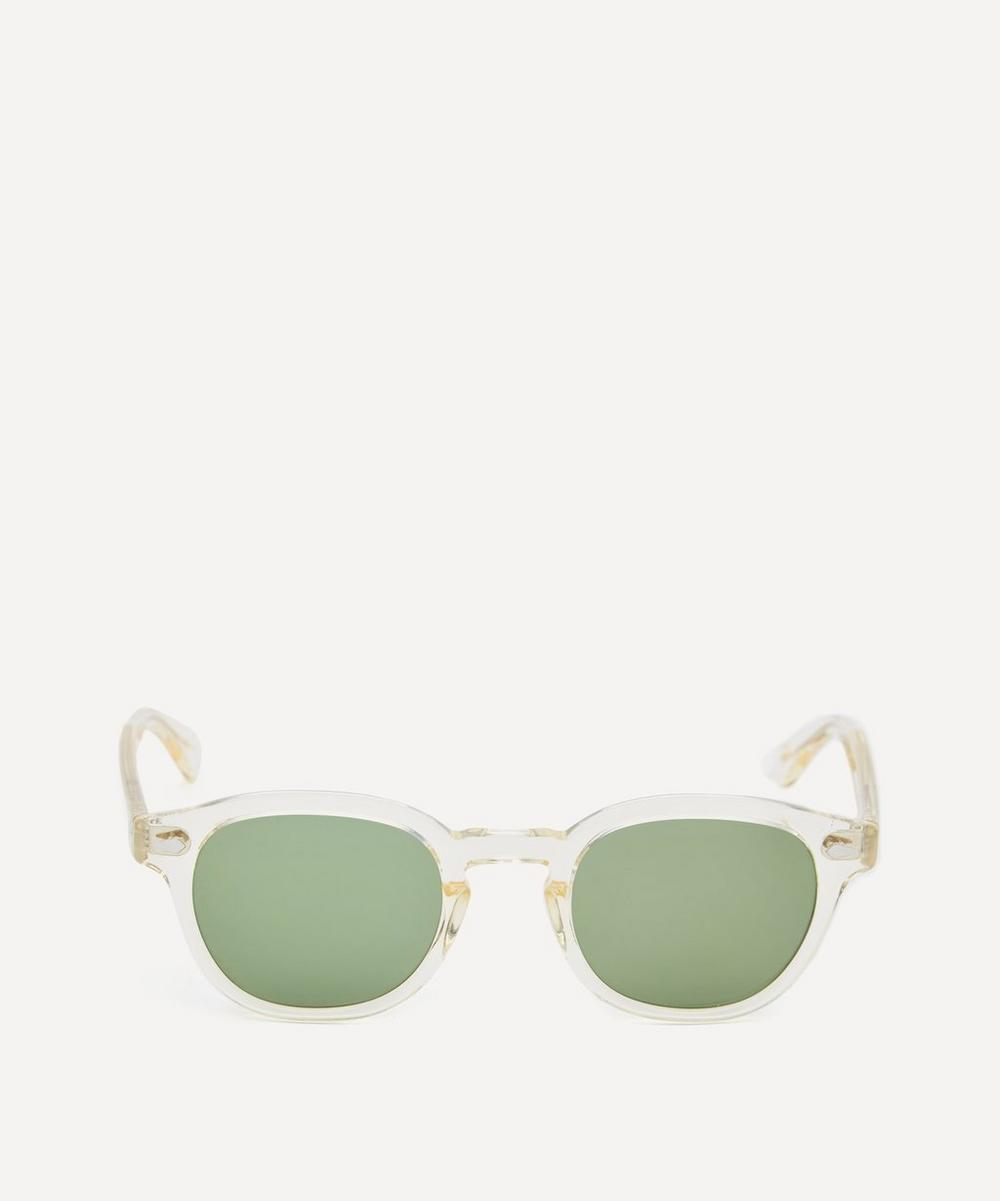 MOSCOT Blonde Lemtosh Acetate Sunglasses in White