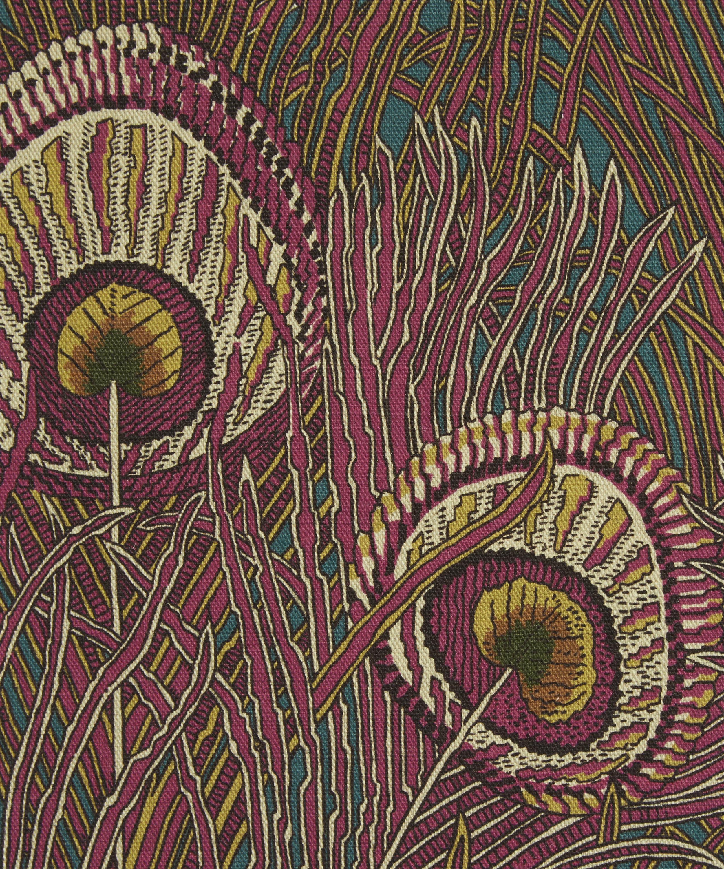 37231340b Hera Feather Linen Union in Anemone   Liberty London