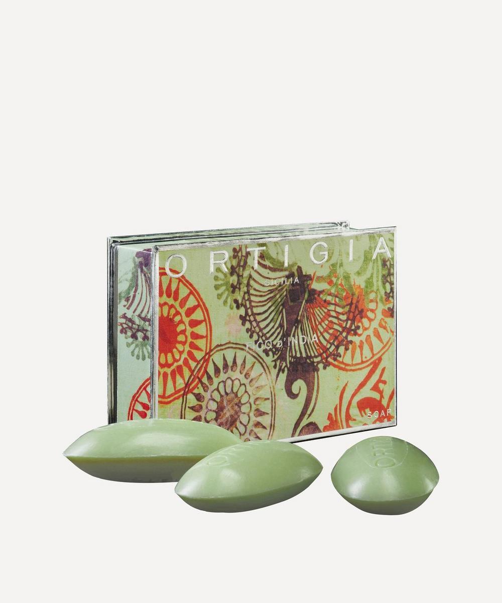 Ortigia - Large Fico d'India Olive Oil Soap Set