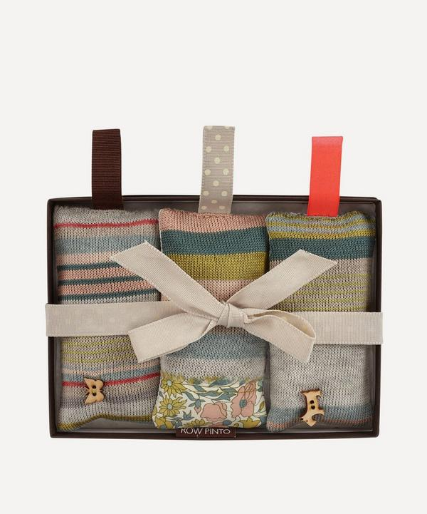 Row Pinto - Norfolk Lavender Blossom Pockets Set