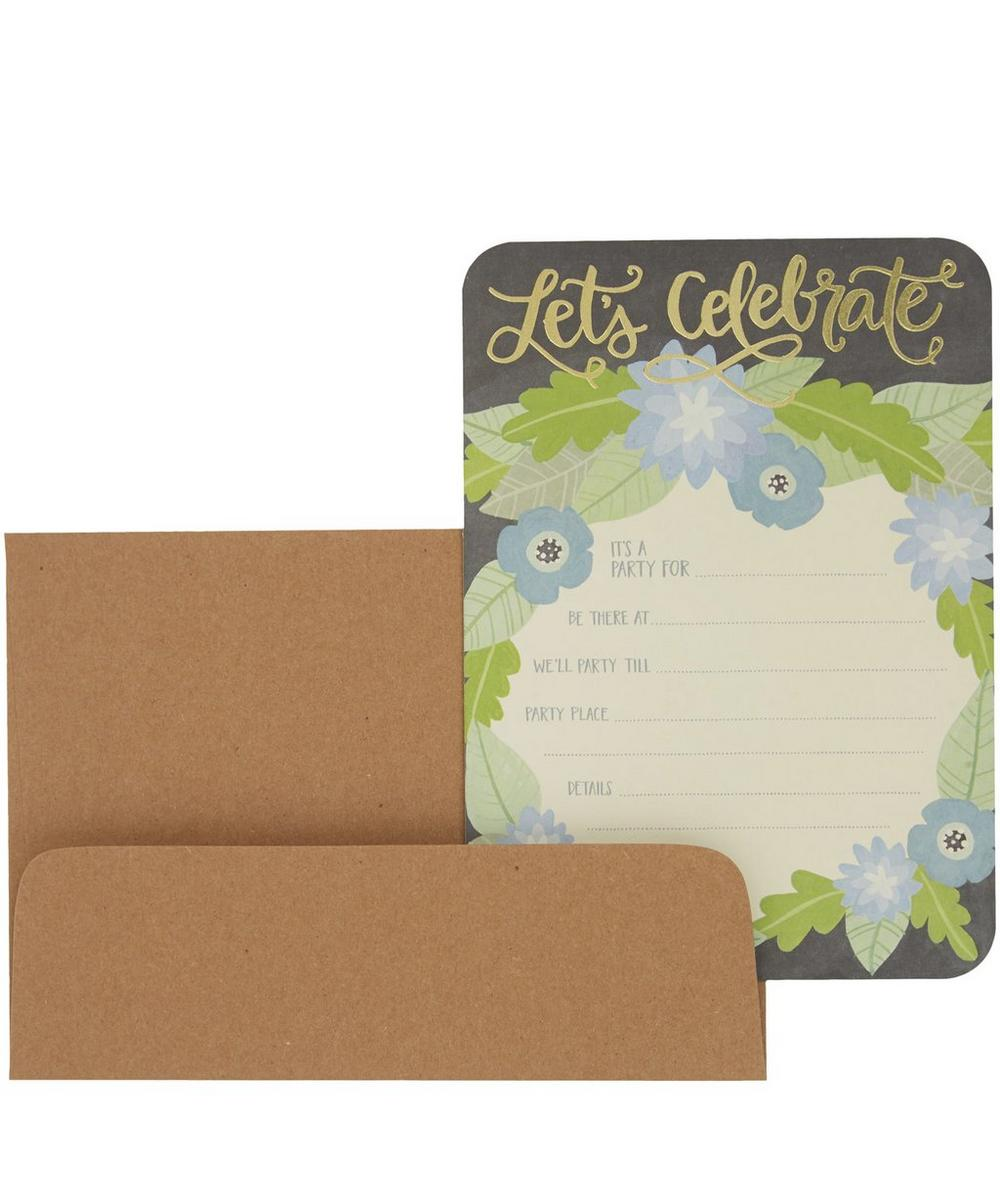 Let's Celebrate Invitation Card Set