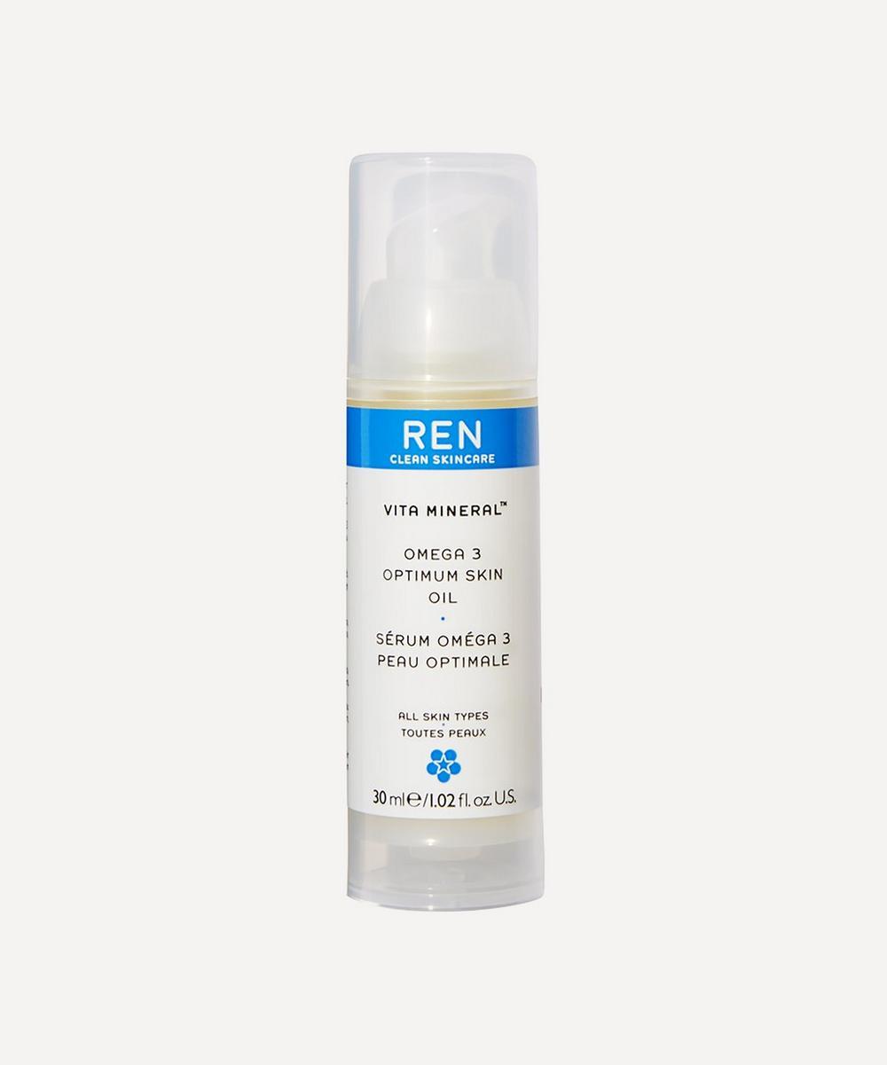 REN Clean Skincare - Vita Mineral Omega 3 Optimum Skin Serum Oil 30ml