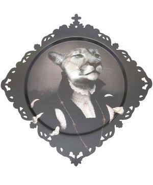 Medicis Margot Cougar Round Tray