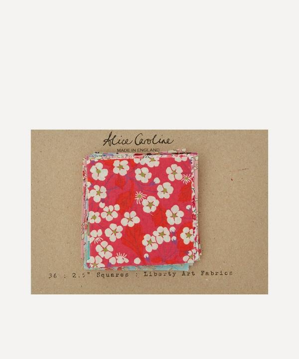 Alice Caroline - Assorted Floral Square Patches