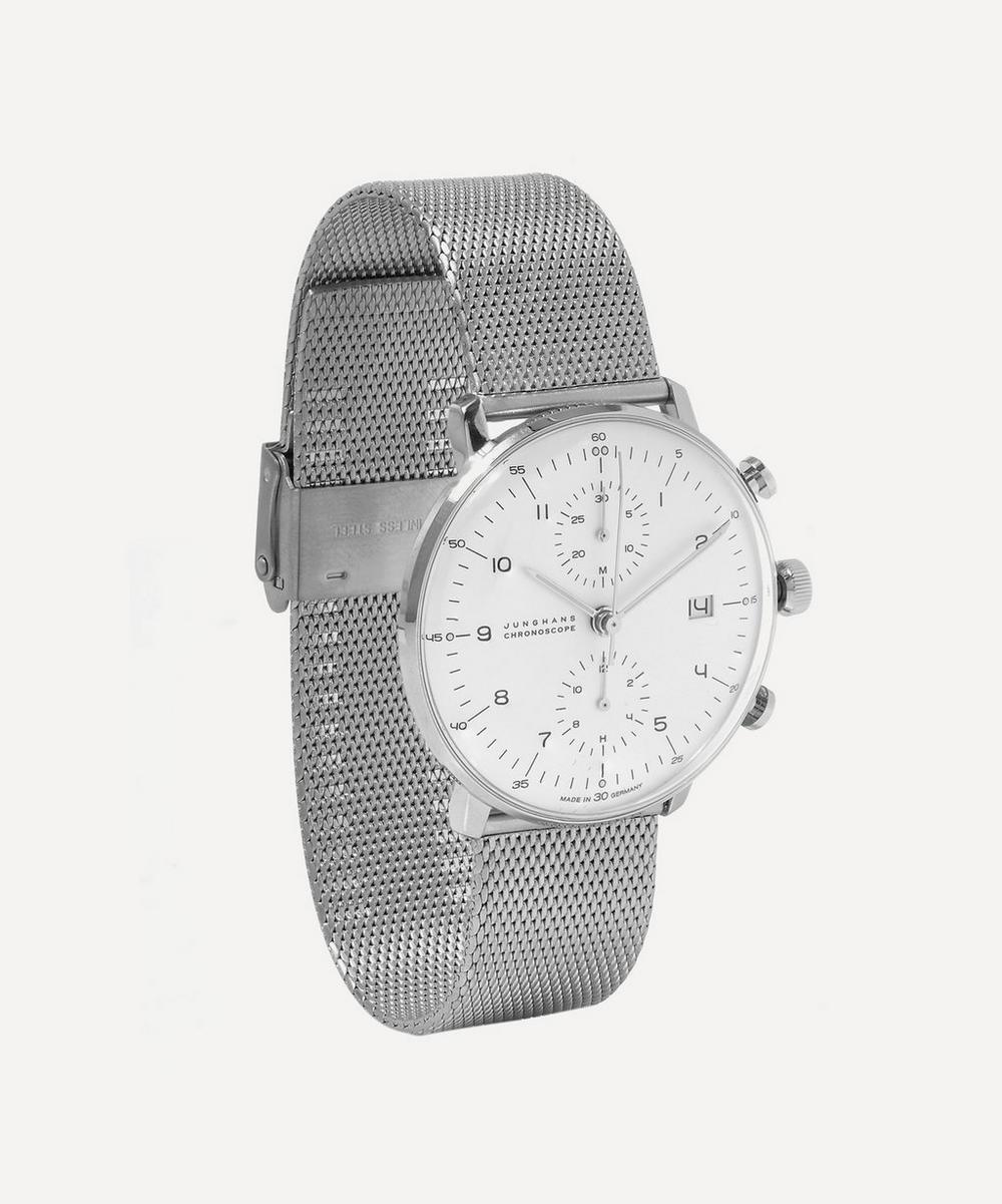 Stainless Steel Milanese Max Bill Chronoscope Watch