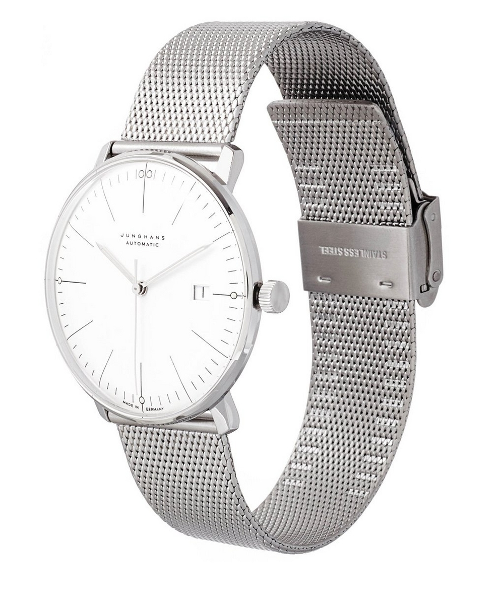 Stainless Steel Milanaise Max Bill Automatic Watch