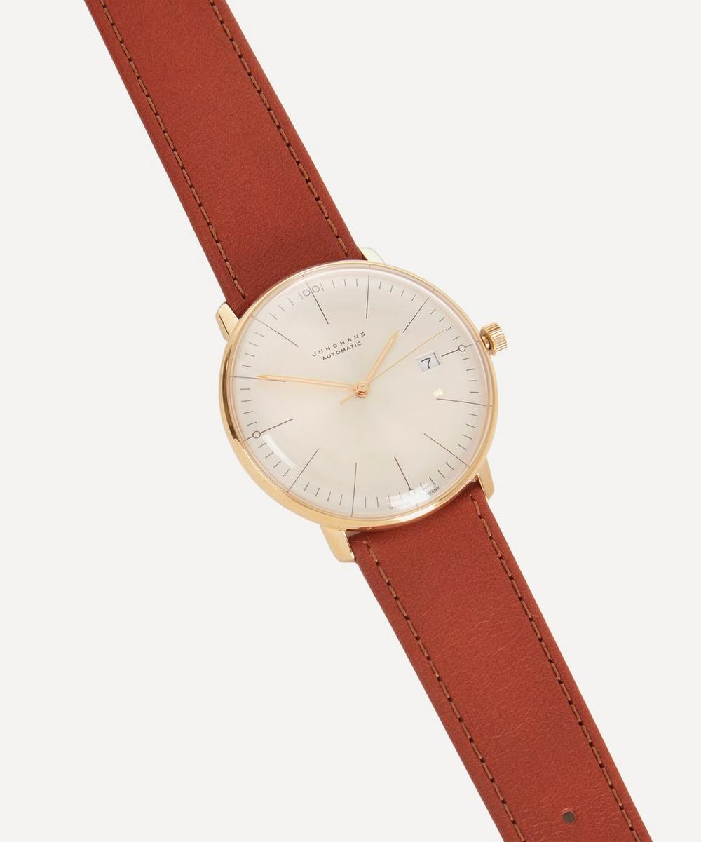 Calfskin Max Bill Automatic Watch