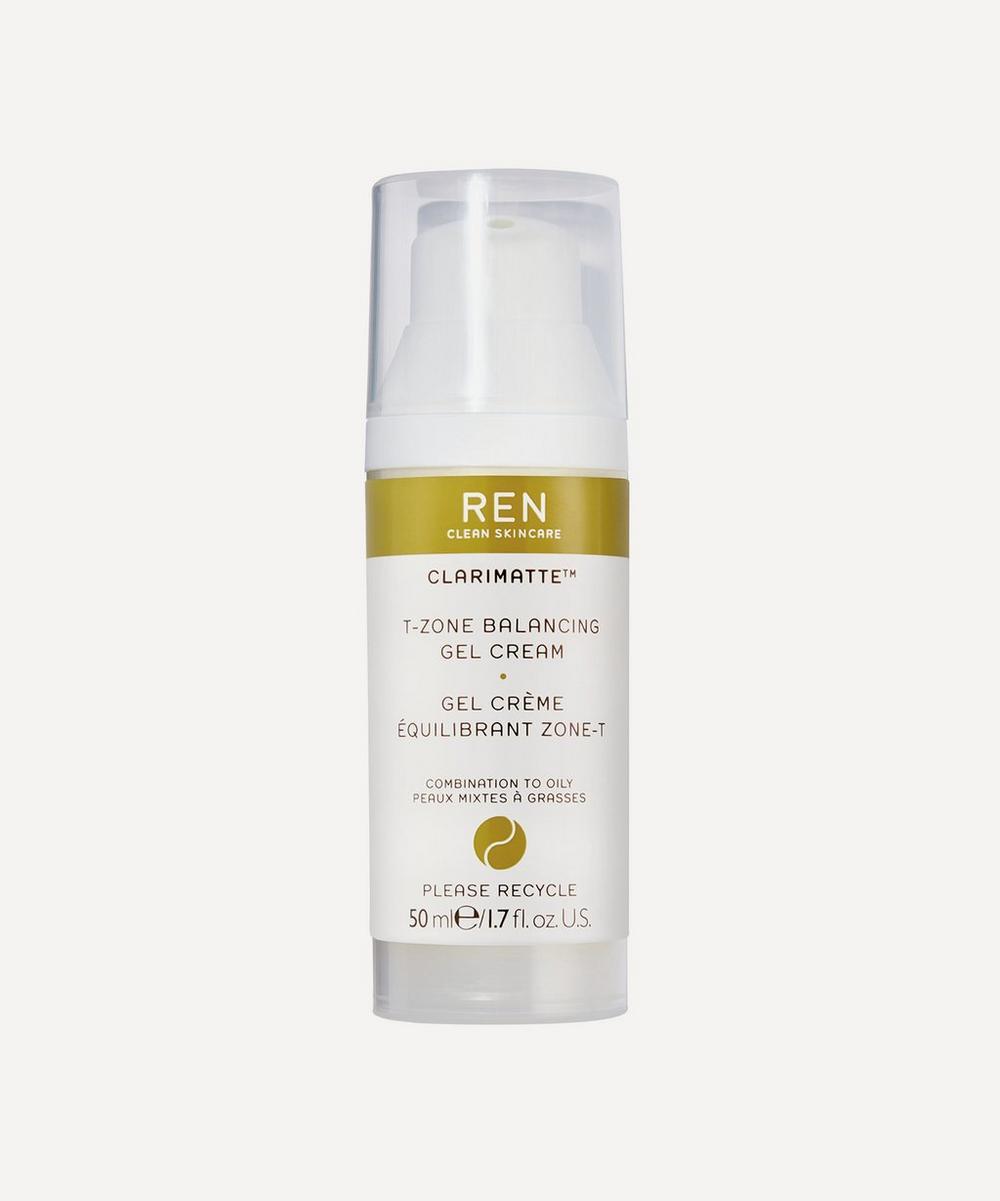 REN Clean Skincare - Clarimatte T-Zone Balancing Gel Cream 50ml