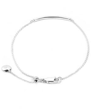 Diamond Short Skinny Bar Bracelet