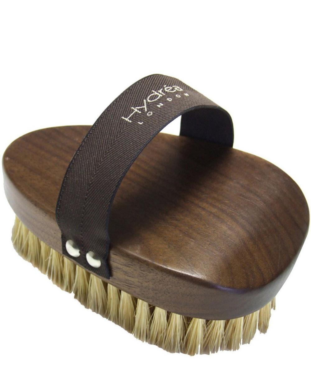 Walnut Wood Dry Skin Brush