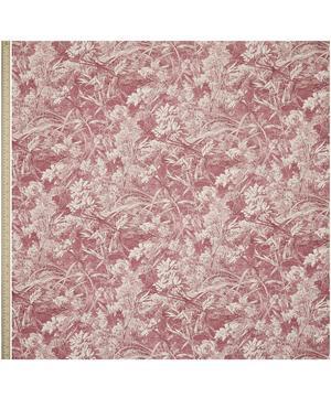 Royal Daisy Linen in Rose