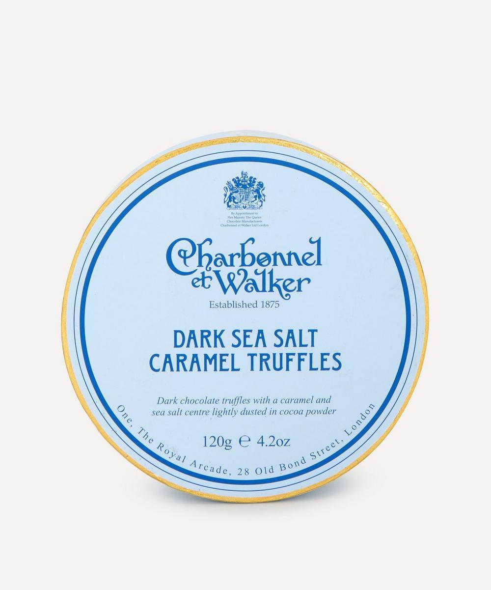 Charbonnel et Walker - Dark Sea Salt Caramel Truffles 120g