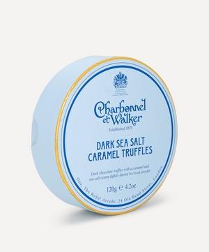 Dark Sea Salt and Caramel Truffles 120g