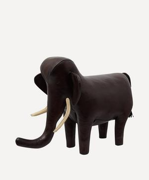 Medium Leather Elephant