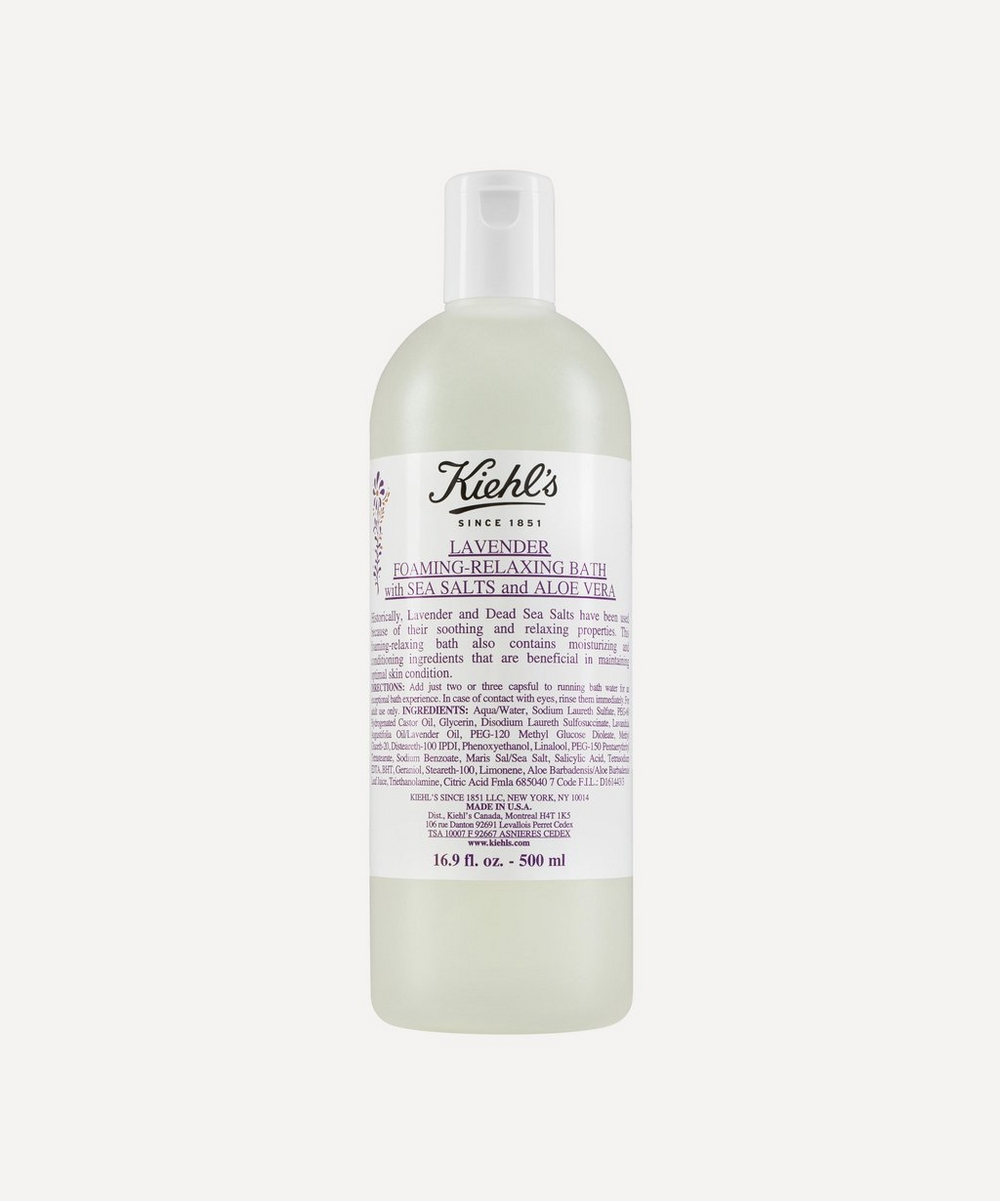 Lavender Foaming Bath with Sea Salts 500ml