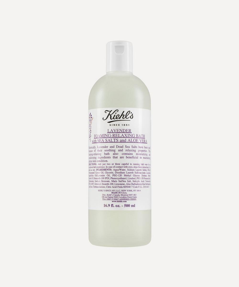 Lavender Foaming Bath with Sea Salts 500ml