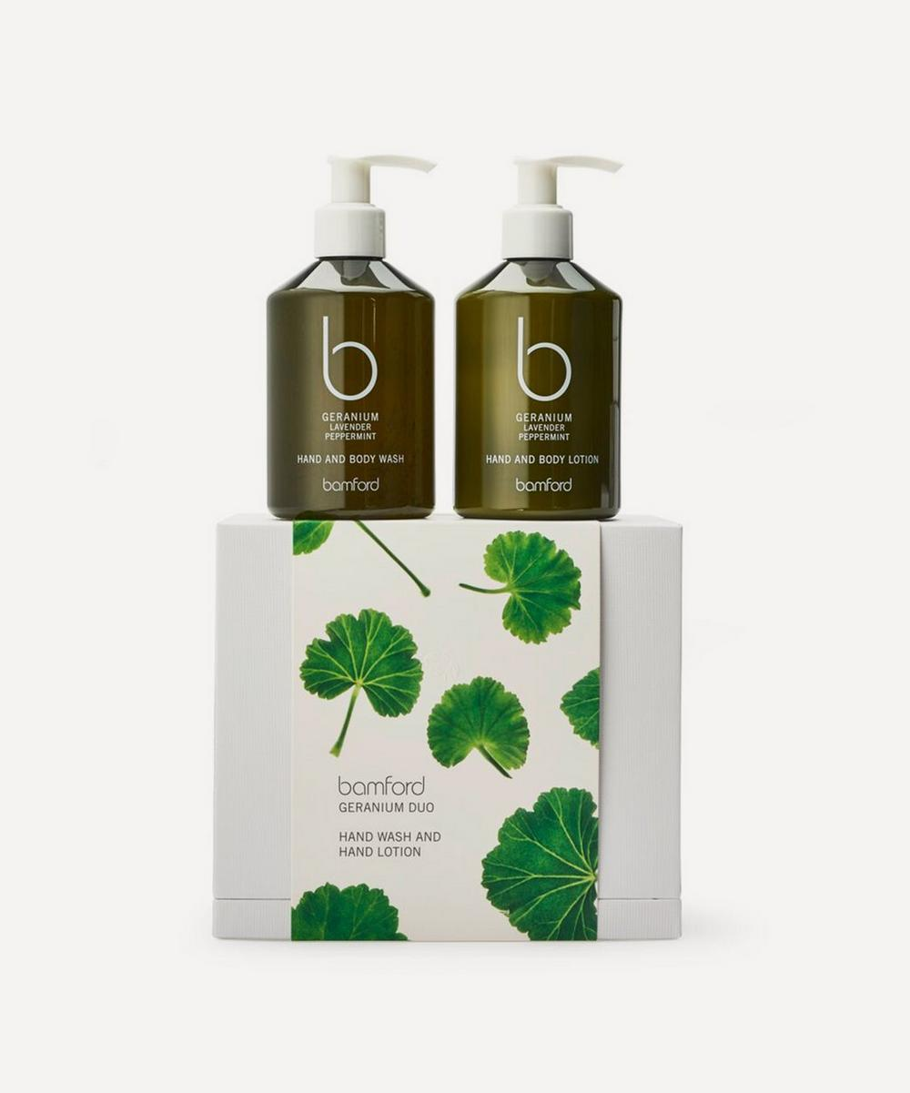 Geranium Duo Gift Set 2 x 250ml