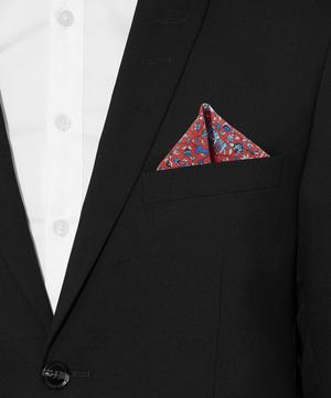 Liberty Print Imran Silk Pocket Square