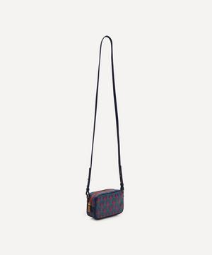Maddox Cross-Body Bag in Iphis Coated Canvas