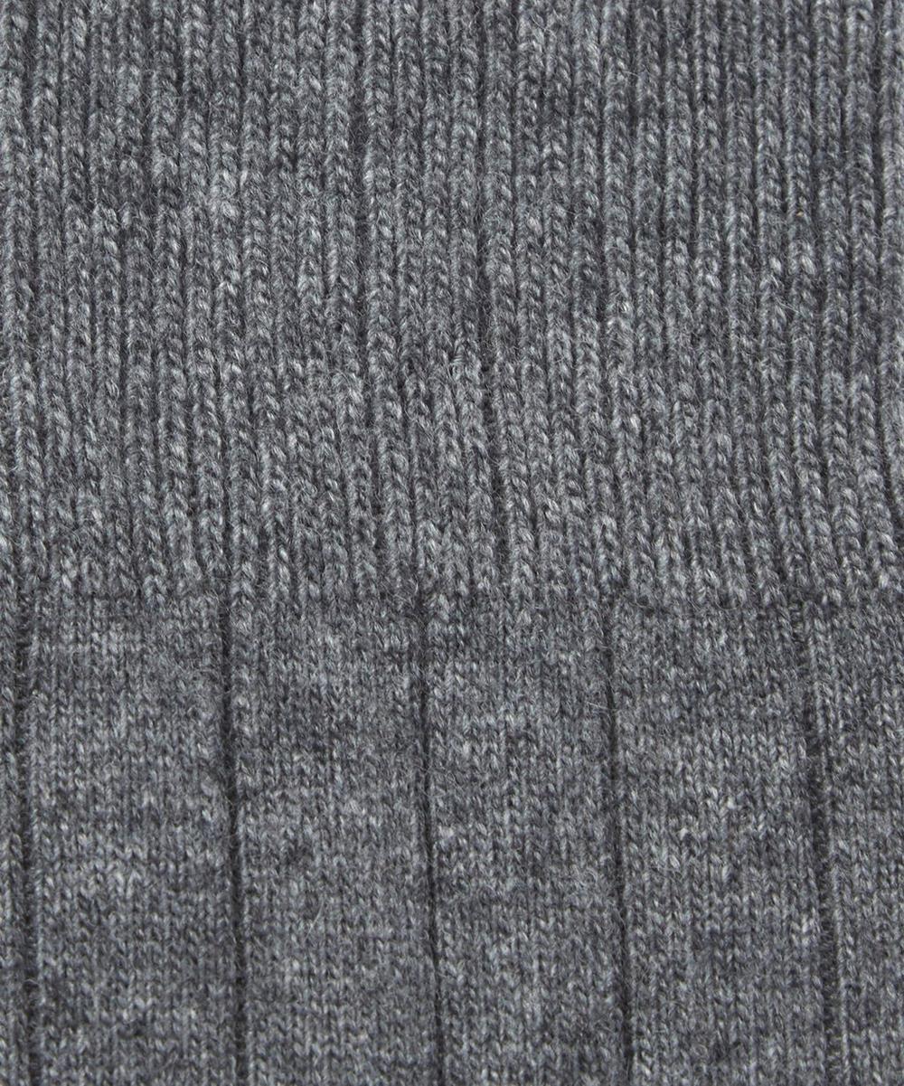 Lhasa Ribbed Cashmere-Blend Socks