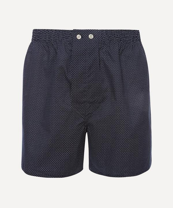 Derek Rose - Polka Dot Classic Cotton Boxer Shorts