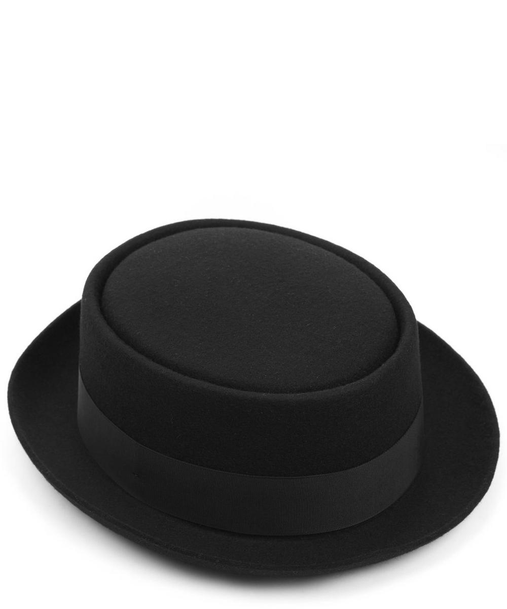 Felt Pork Pie Hat