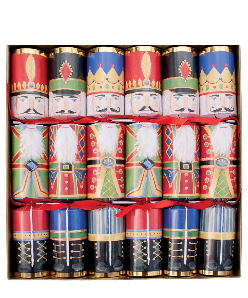 Multicolour Nutcracker Christmas Crackers