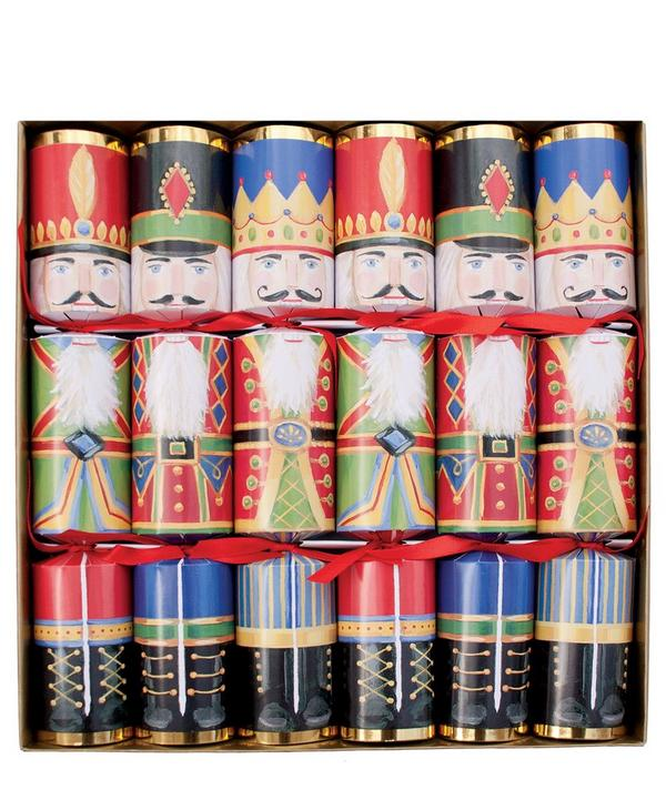 Multicolour Nutcracker Christmas Crackers