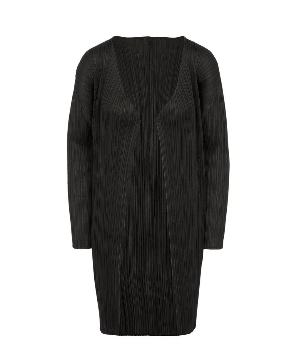 Pleats Please Issey Miyake Tops MID-LENGTH CARDIGAN