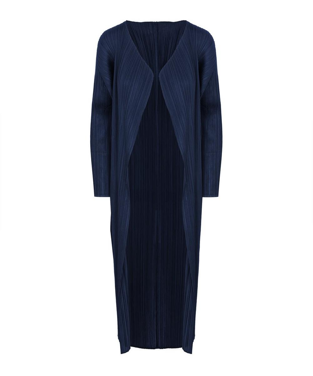Pleats Please Issey Miyake Coats PLEATS PLEASE LONGLINE COAT