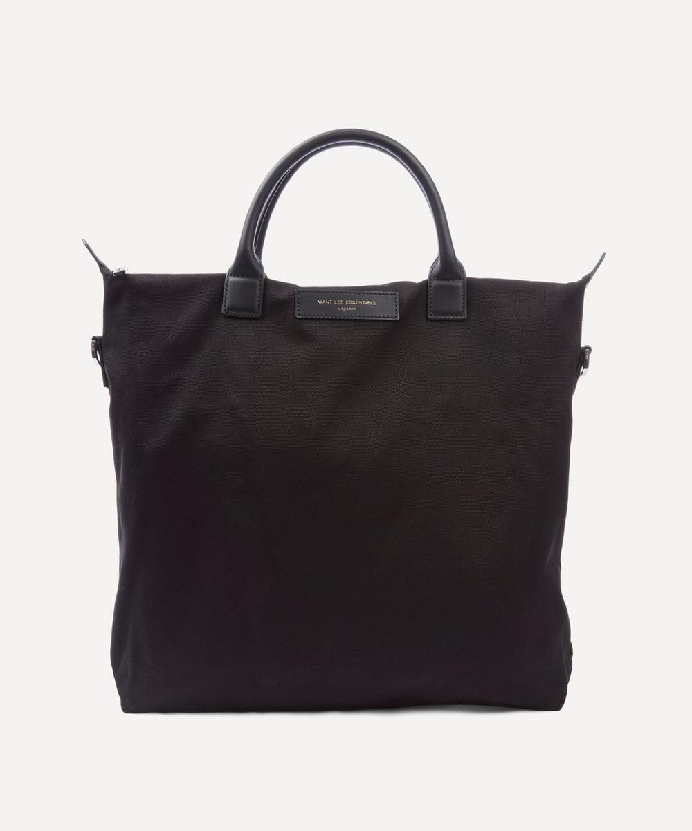 Want Les Essentiels De La Vie Navy O'hare Organic Tote Bag