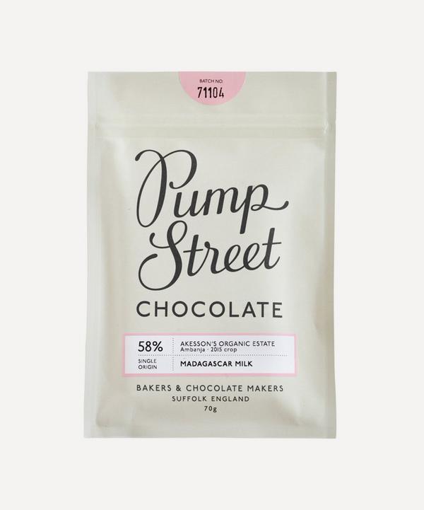Pump Street Bakery - Madagascar 58% Milk Chocolate Bar 70g