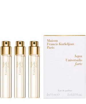 Universalis Forte Eau de Parfum Refills 3 x 11ml