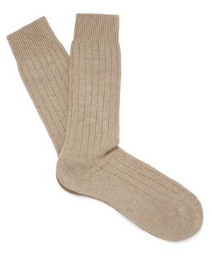 Waddington Cashmere-Blend Socks