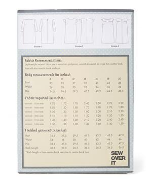Shift Dress Pattern Sewing Kit