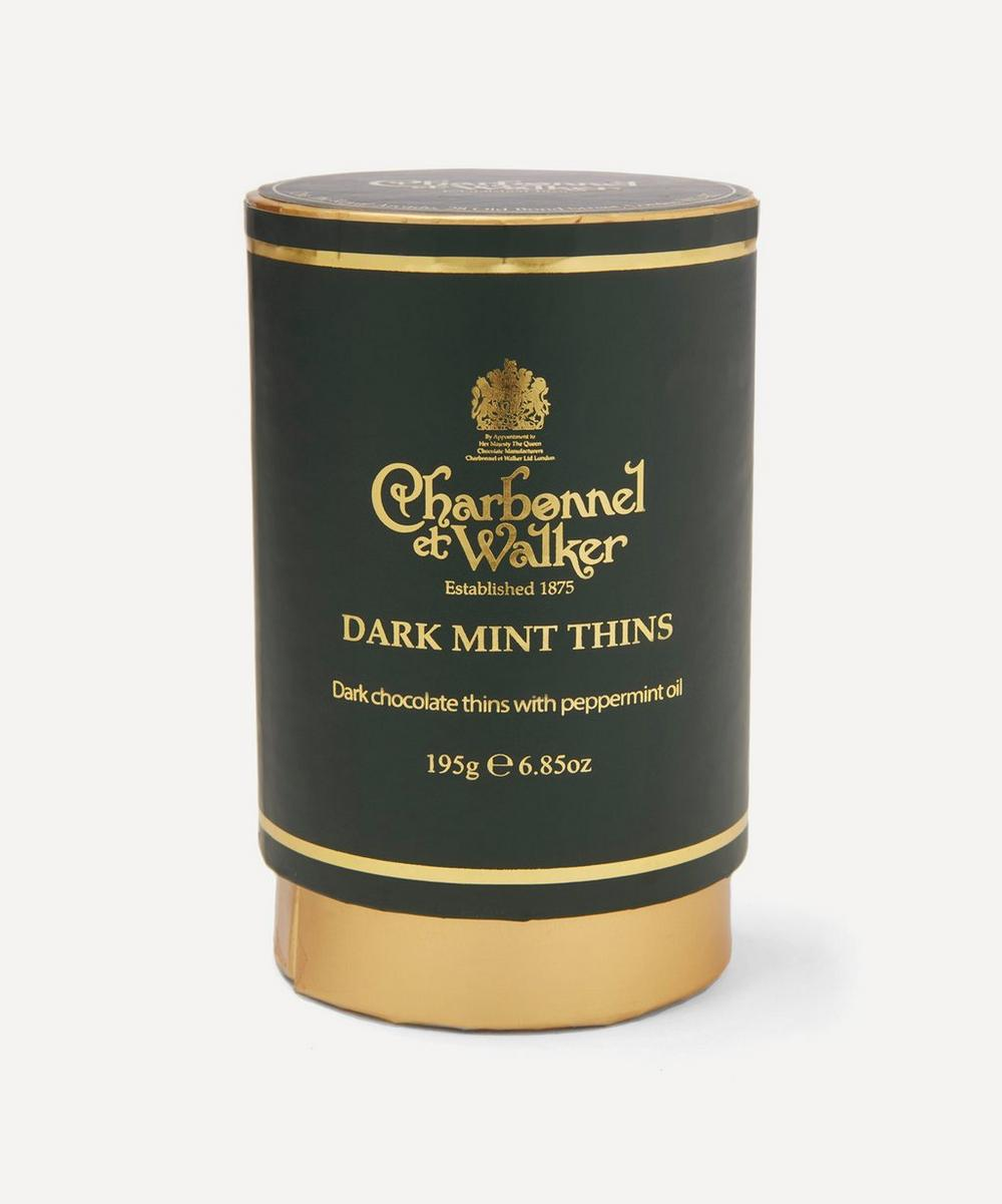 Charbonnel et Walker - Dark Chocolate Mint Thins 195g