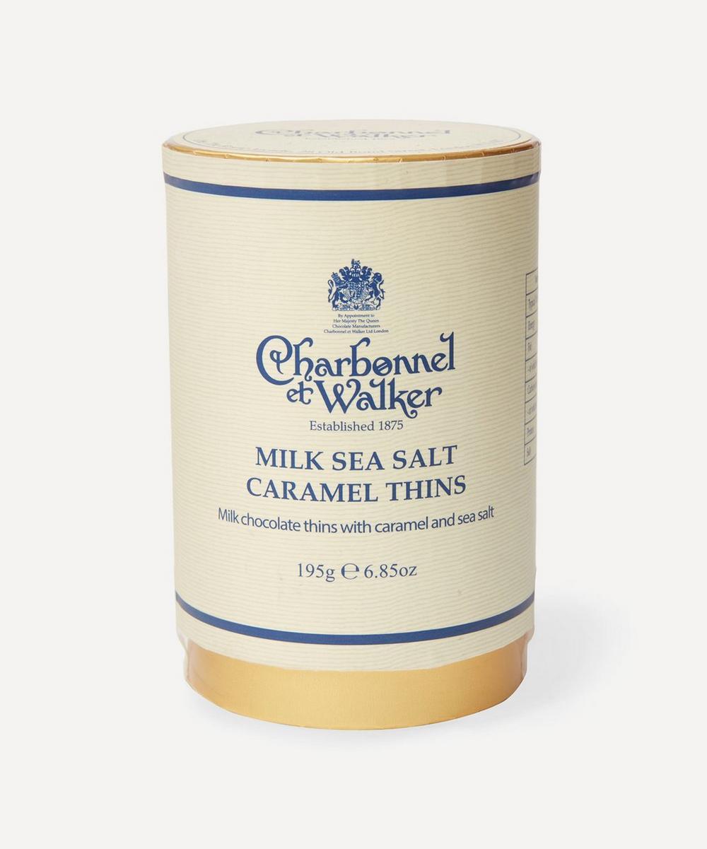 Charbonnel et Walker - Milk Chocolate Sea Salt Caramel Thins 195g