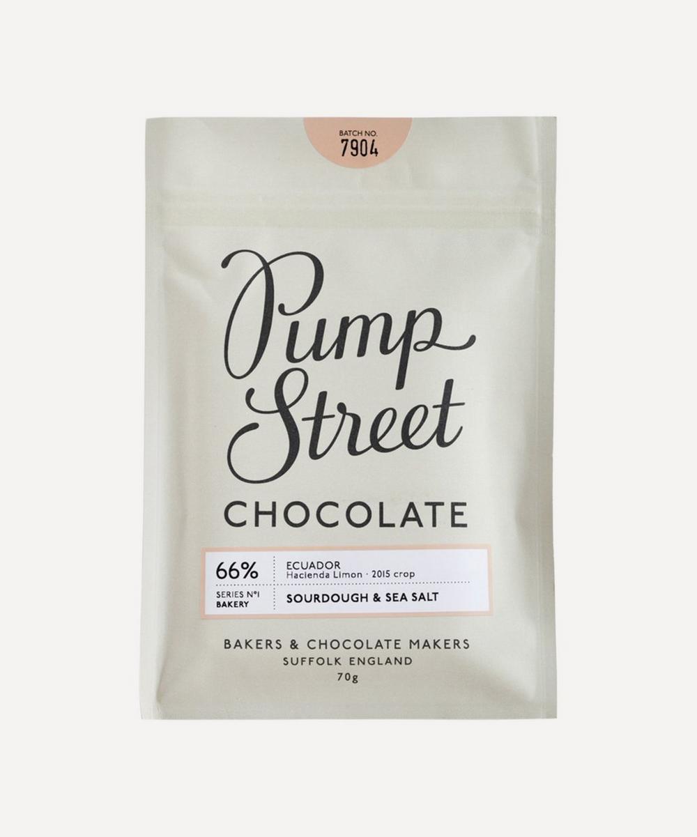 Pump Street Bakery - Sourdough & Sea Salt 66% Dark Chocolate Bar 70g