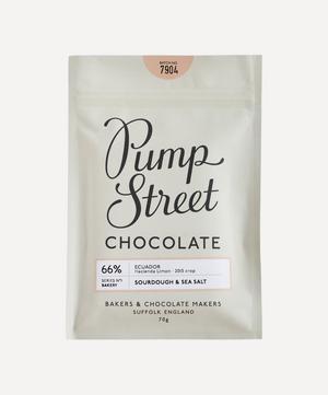 Sourdough & Sea Salt 66% Dark Chocolate Bar 70g
