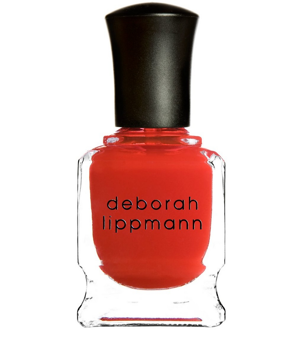 Nail Polish in Supermodel Sheer Modern Red Orange