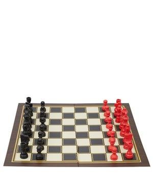 Chess and Checkers Set