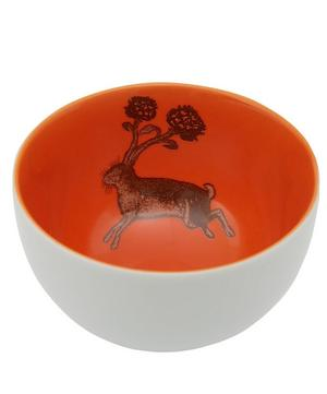 Rabbit Porcelain Bowl