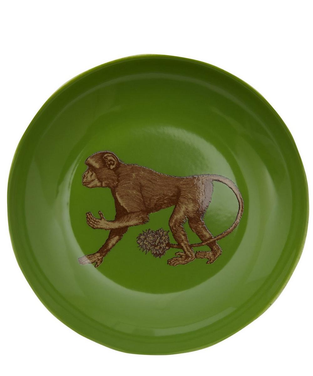 Monkey Porcelain Plate