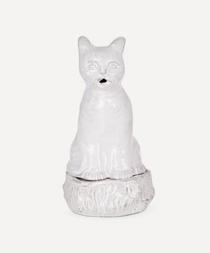 Setsuko Cat Glazed Terracotta Incense Holder