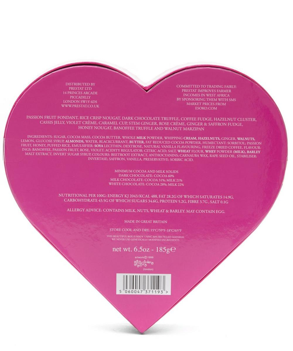 Large Heart Chocolate Assortment Box 185g