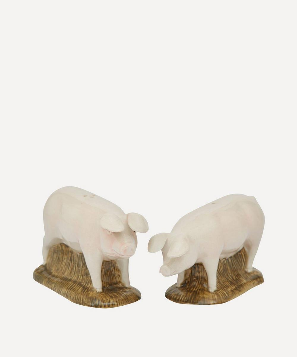 Lop Pig Stoneware Salt and Pepper Shakers
